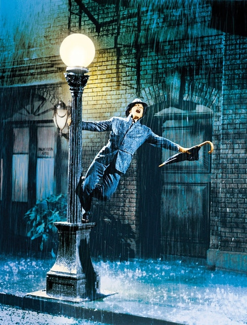 Singing in the Rain directed by Gene Kelly and Stanley Donan